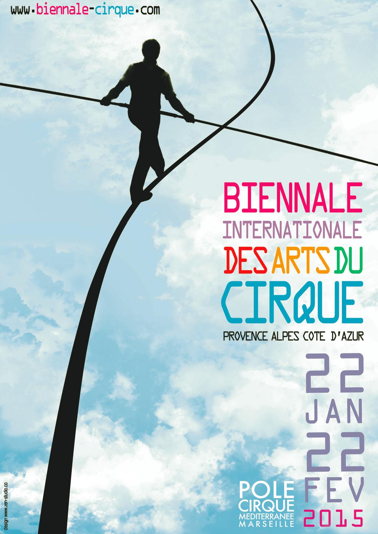 BIENNALE cirque 2015 visuel